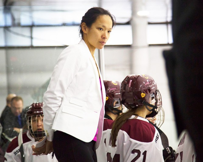 Julie Chu Women's Hockey Coach