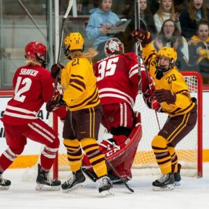 wisonsin badgers minnesota gophers womens hockey