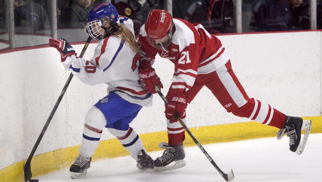 girls playing boys hockey